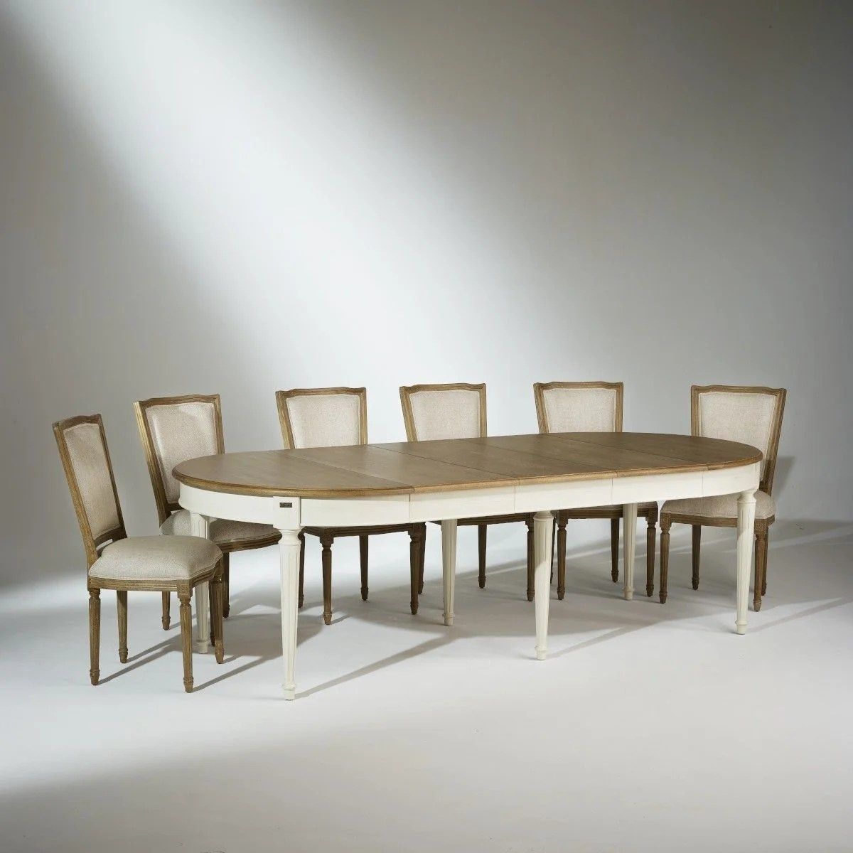 table salle a manger florence extensible 4 a 12 couverts