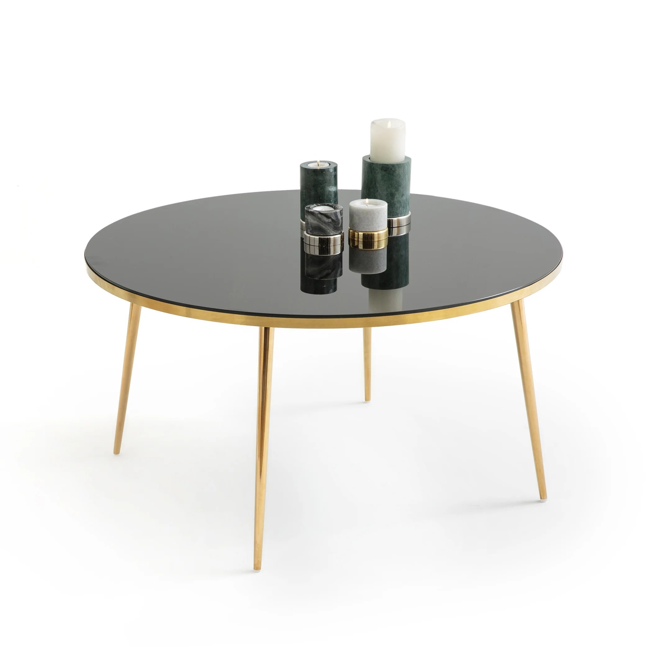luxore round coffee table