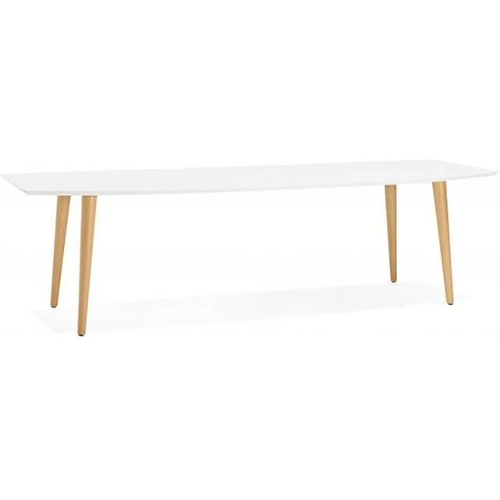 table a manger scandinave rectangulaire satt