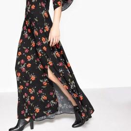 Imagen de Vestido largo con estampado de flores La Redoute Collections