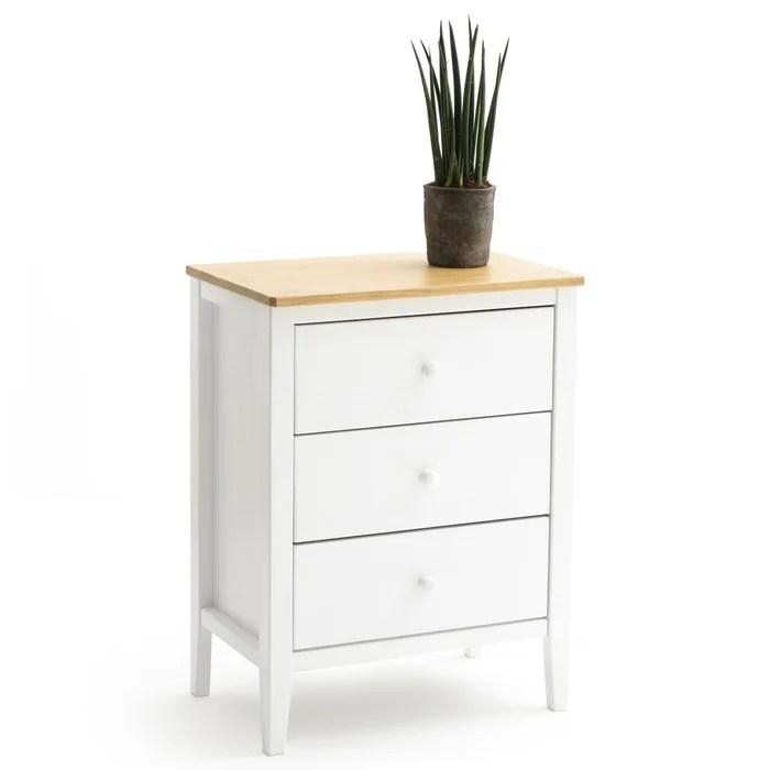 meuble de cuisine 3 tiroirs alvina