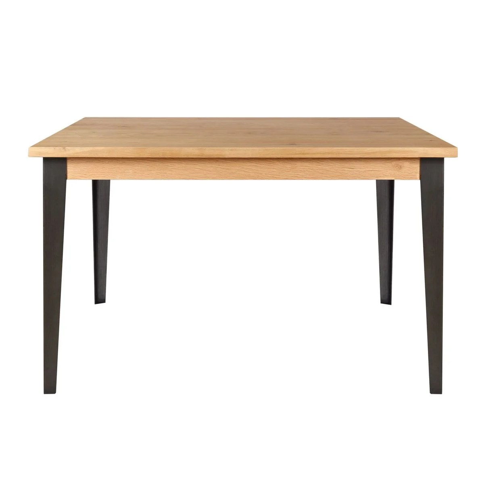 table repas chene carree 140 x 140 cm manhattan