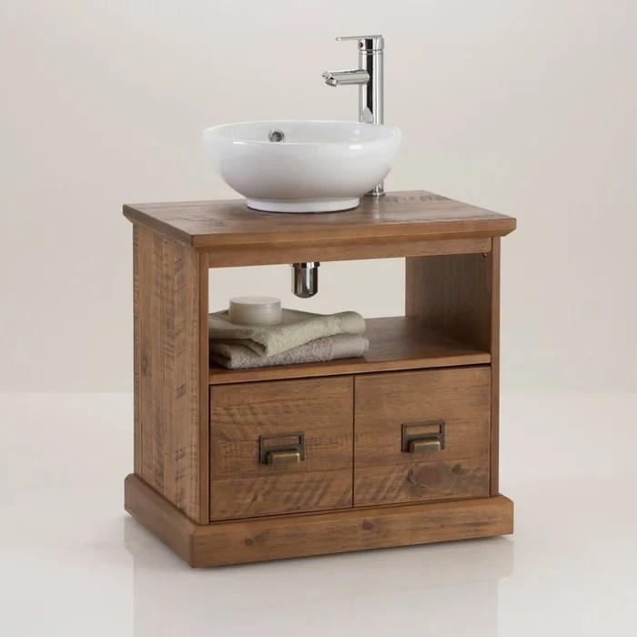 meuble sous lavabo de salle de bain lindley la redoute interieurs