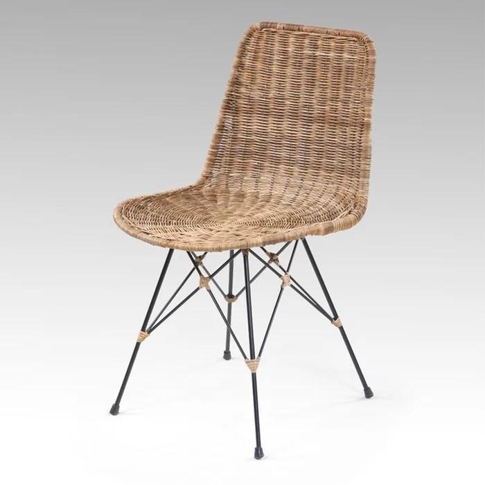 Chaise Rotin Banduk Couleur Unique Kha Home Design  La