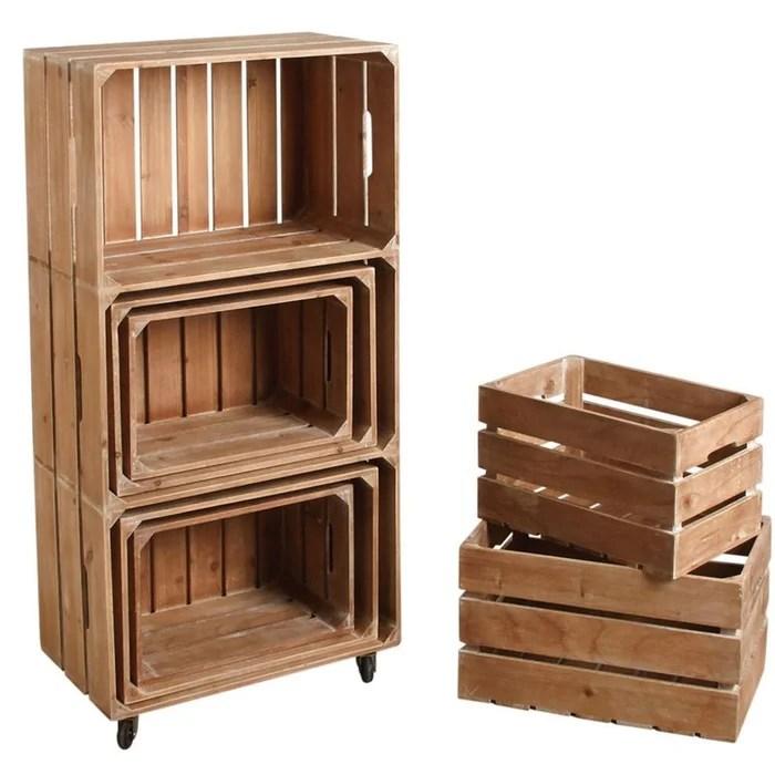 ensemble etagere et caisses de rangement