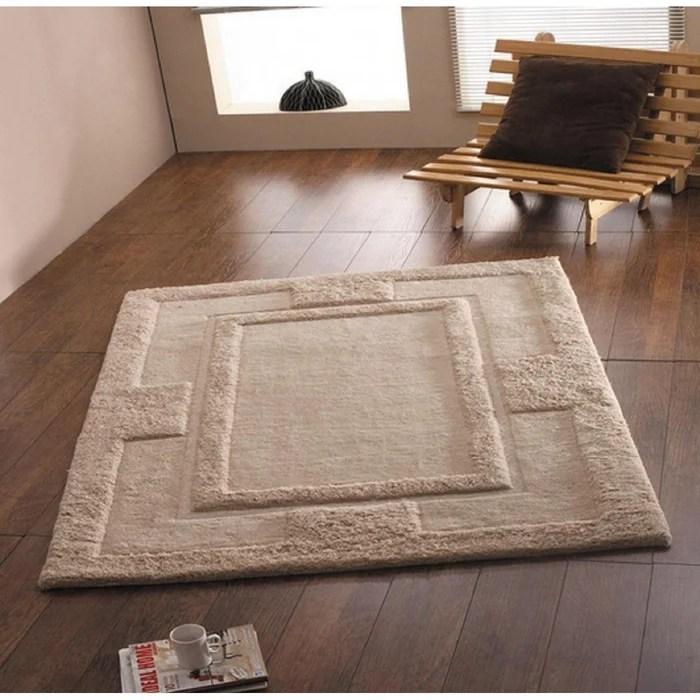 tapis de salon luxe en laine et epais sparta