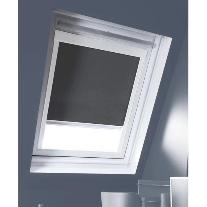 store enrouleur occultant cadre blanc compatible velux
