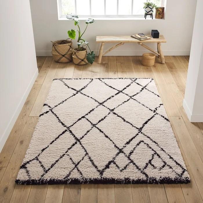 tapis style berbere rabisco