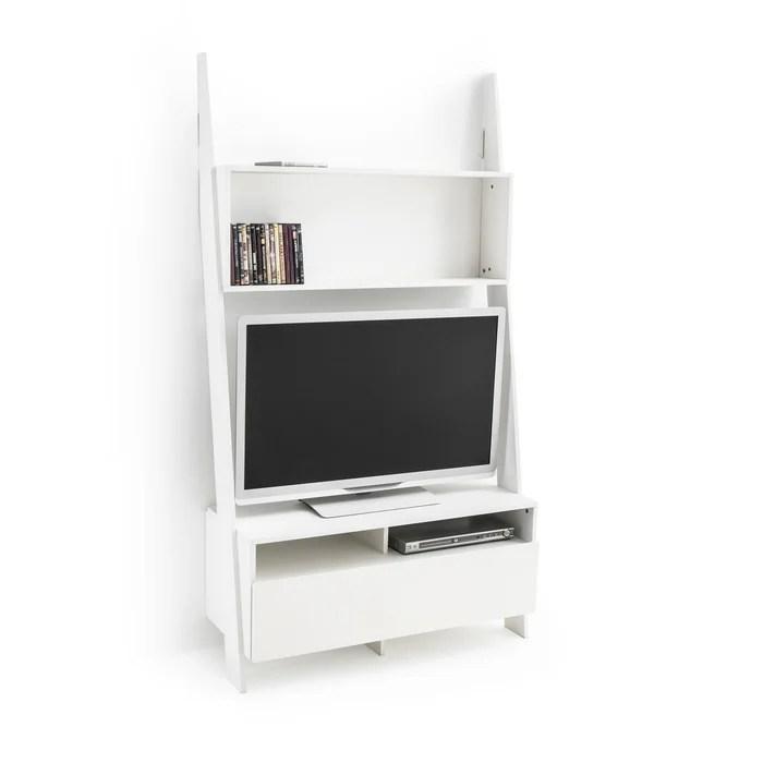 Etagere Echelle Meuble Tv Domeno Blanc La Redoute Interieurs La Redoute