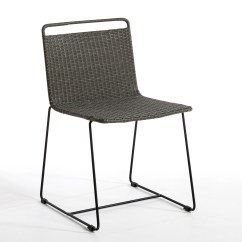 Woven Plastic Garden Chairs Ergonomic Chair Near Me Ambros Designed By E Gallina Charcoal Am Pm La Redoute