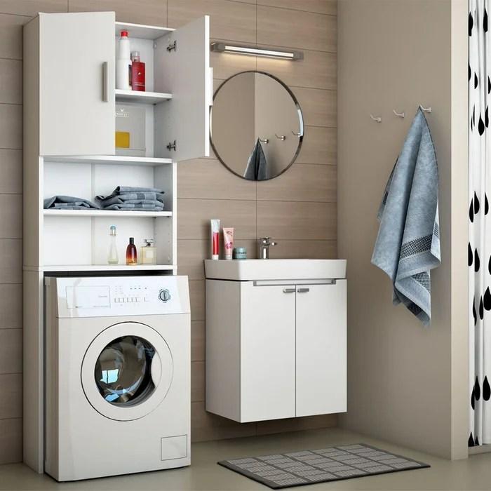 meuble de buanderie pour machine a laver jeany