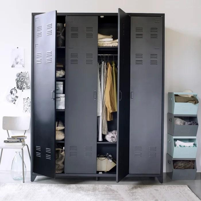 hiba stackable metal locker la redoute