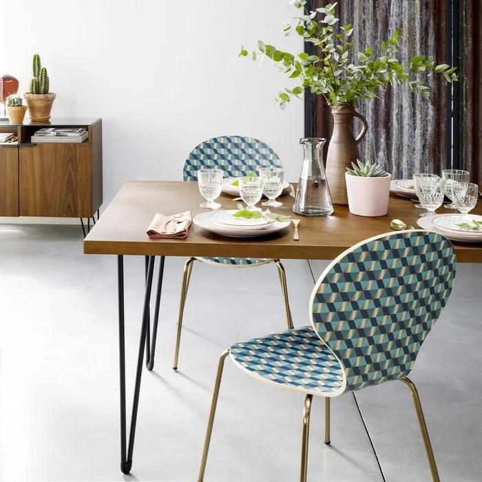 table a manger carree esprit vintage watford