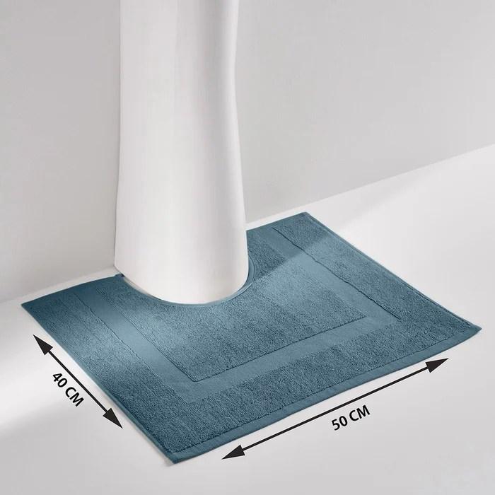 tapis de bain uni eponge 700 g m scenario