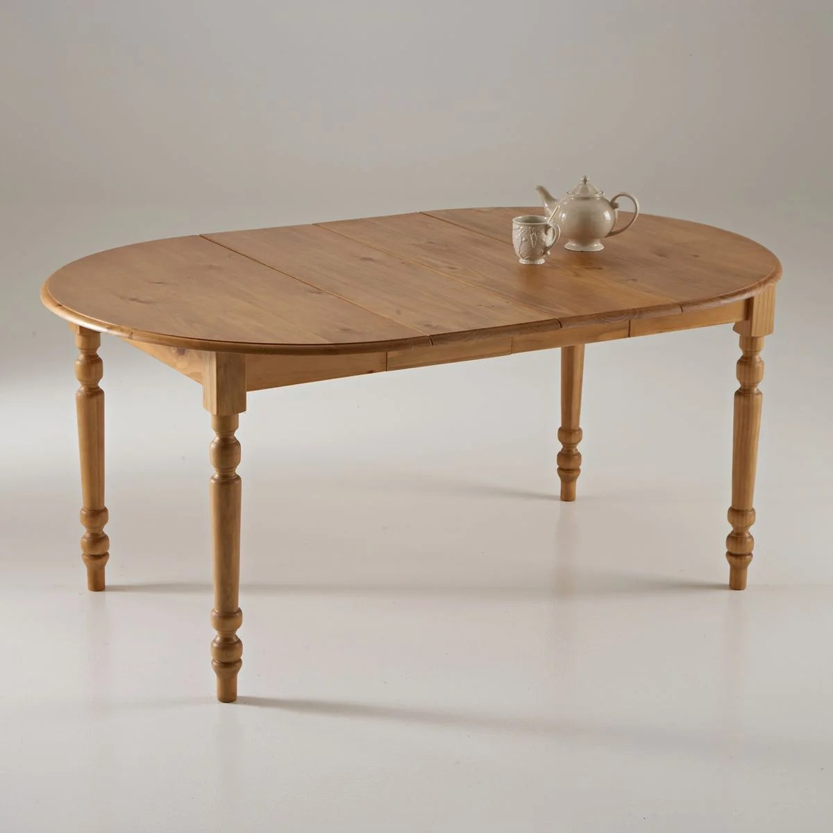 table a manger ronde pin massif authentic style