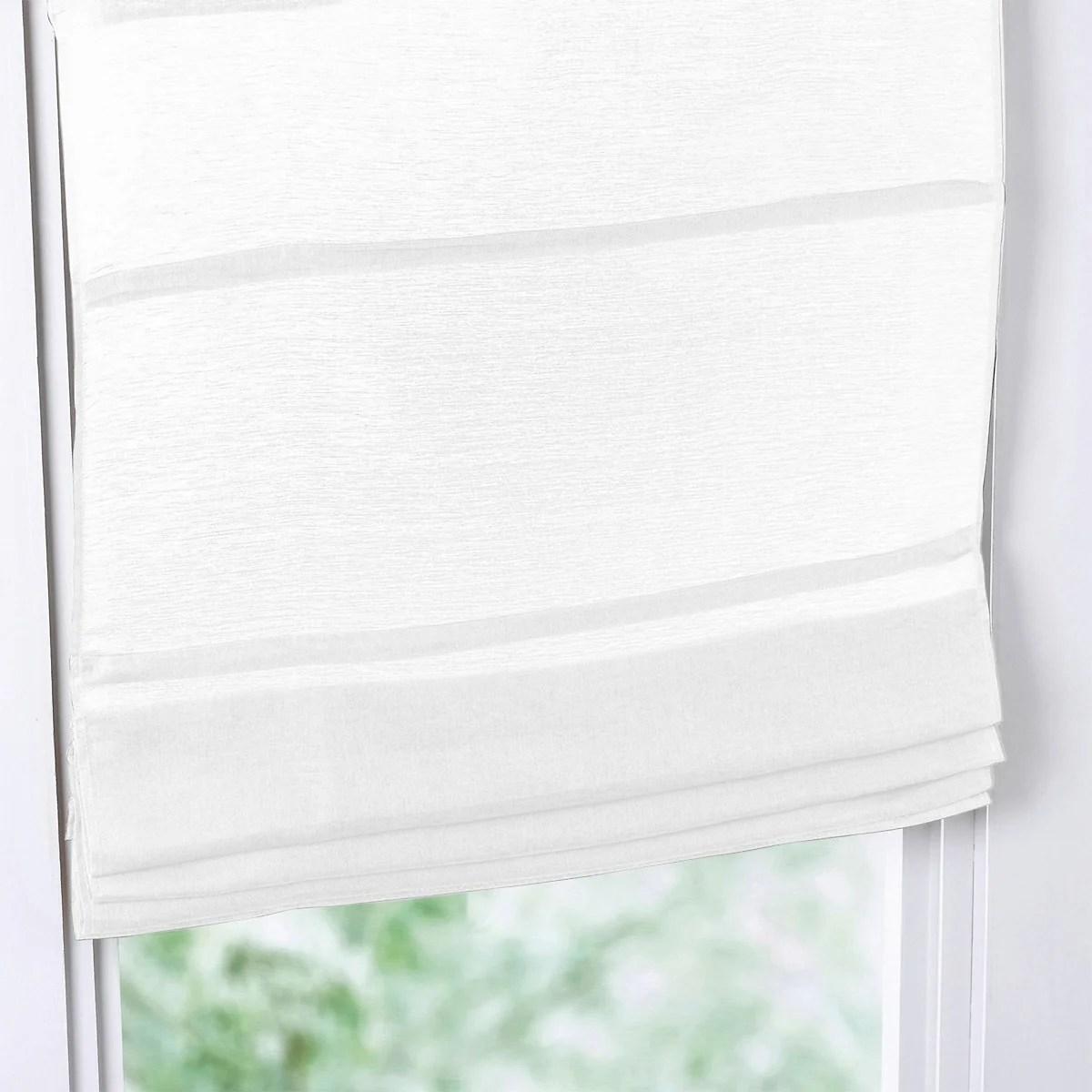 Queste tende si rivelano, di conseguenza, dei veri e propri climatizzatori. Tenda A Pacchetto Garza Lino Cotone La Redoute Interieurs La Redoute