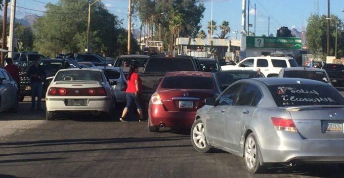 Residentes de Sonoyta bloquean paso en frontera con EU por temor a ...