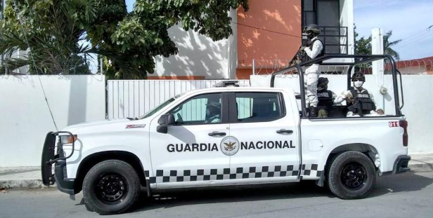 Secuestran a dos elementos de la Guardia Nacional en Jerez, Zacatecas
