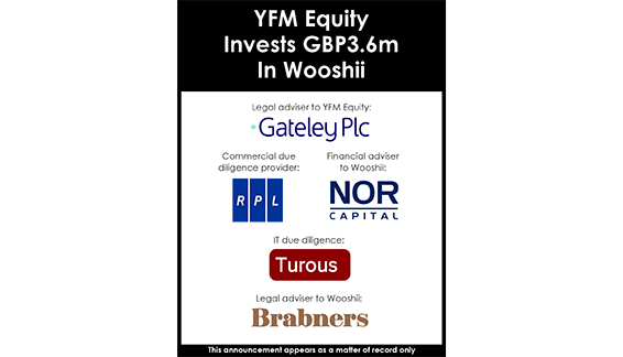 yfm equity invests gbp3