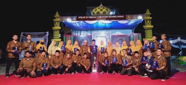 Juara Lomba Karya Tulis Ilmiah Alquran, Ustazah LDII Bangka Ingatkan Etika Sosial Media