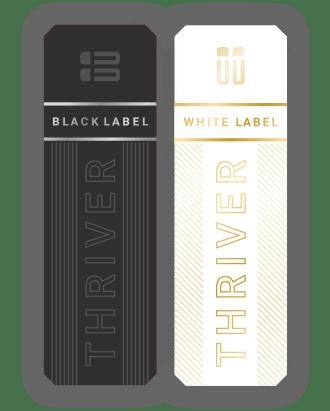 Black Label Patch : black, label, patch, Black, Label, THRIVE, Le-Vel