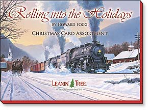 Rolling Into The Holidays Christmas Greeting Card