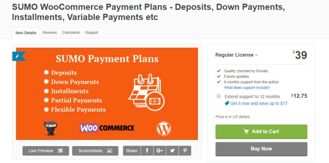 WooCommerce deposits plugins