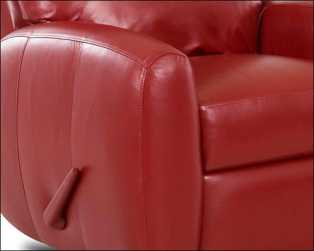 red recliner chairs amazon computer chair american made best leather reclining ventana clp114 clp114rc