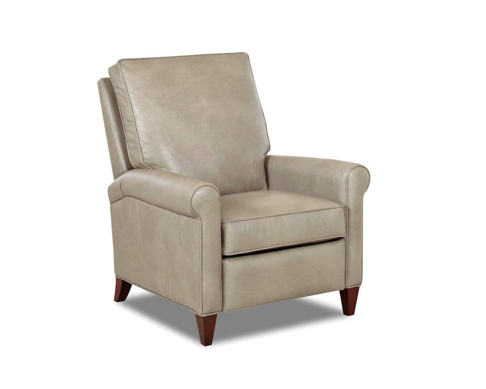 Leather Reclining Chairs Comfort Design Finley Recliner Cl749