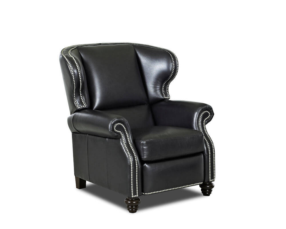 Wingback Leather Recliner American Made CL735