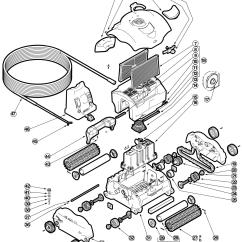 Polaris Pool Cleaner Parts Diagram 89 Toyota Truck Wiring Diagrams Tiger Shark Image Of