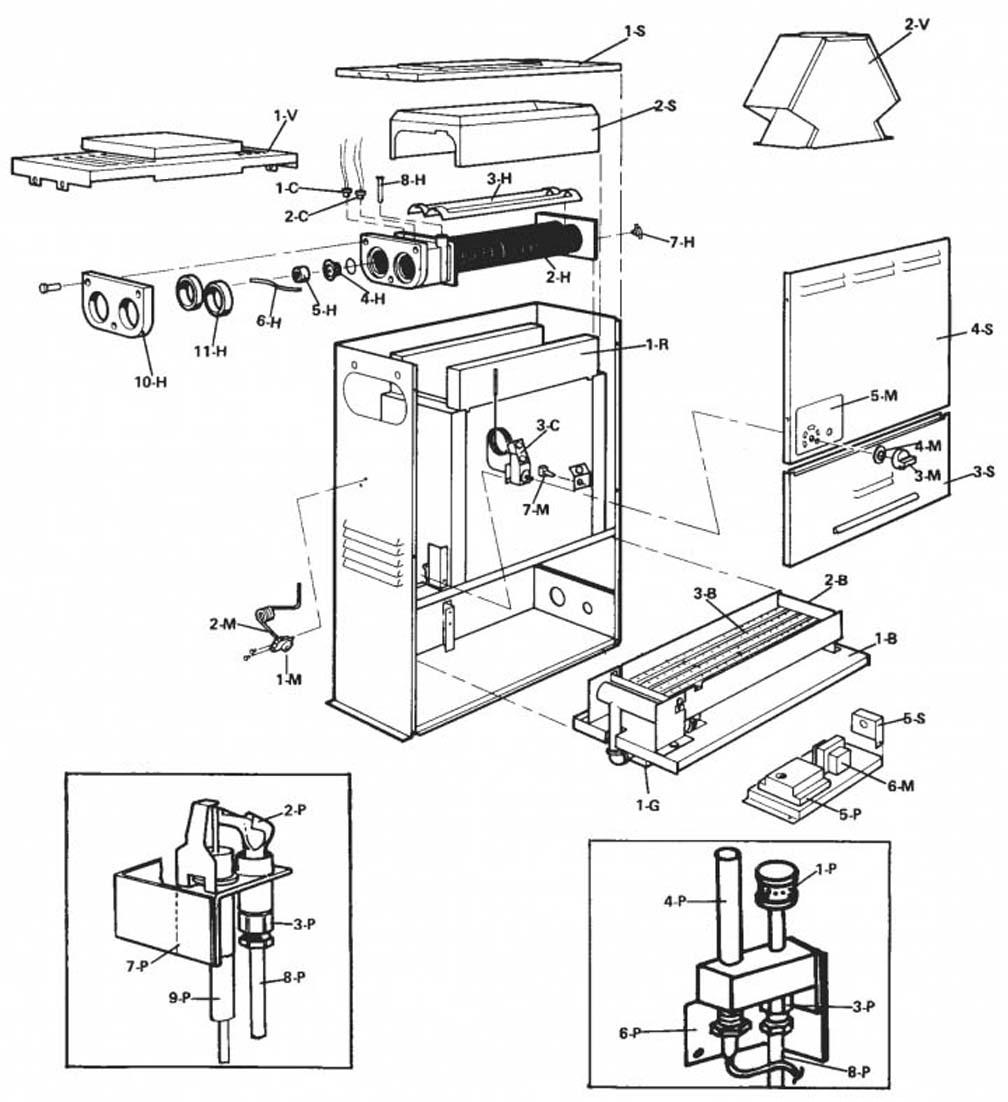 Raypak Heater 053A Parts