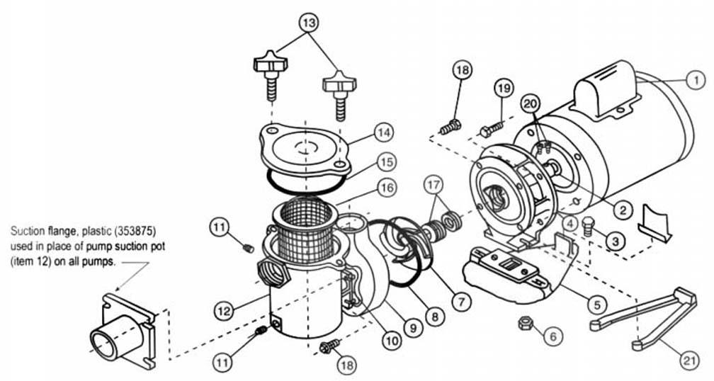 Pentair Hydropump Pump