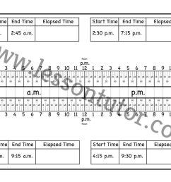 Calculate Elapsed Time Worksheet Second Grade - Lesson Tutor [ 791 x 1024 Pixel ]