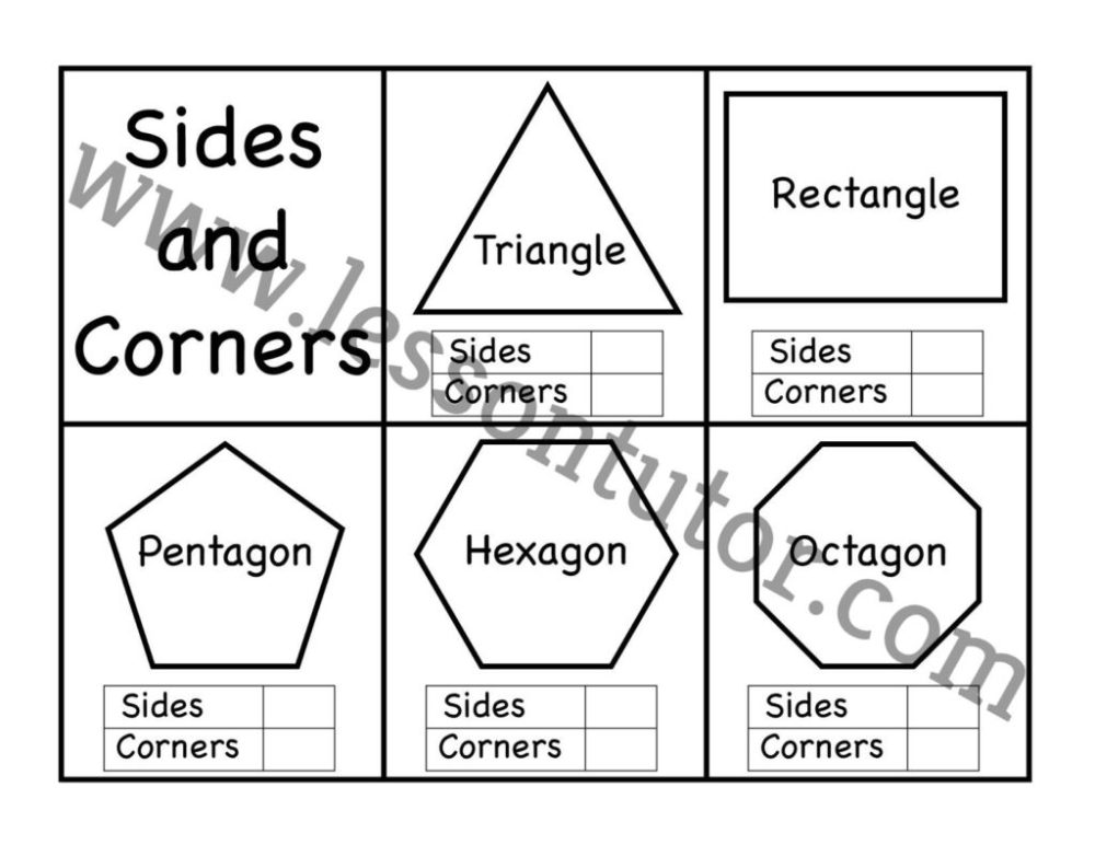 medium resolution of Identify Polygons Worksheet   Printable Worksheets and Activities for  Teachers