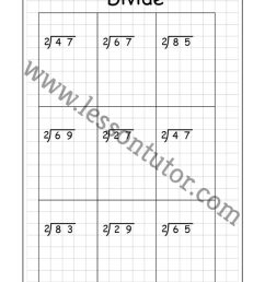 Long Division – 2 Digits By 1 Digit – With Remainders Worksheet Fourth Grade  - Lesson Tutor [ 1024 x 791 Pixel ]