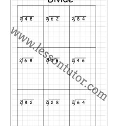 Long Division – 2 Digits By 1 Digit – Without Remainders Worksheet Fourth  Grade - Lesson Tutor [ 1024 x 791 Pixel ]