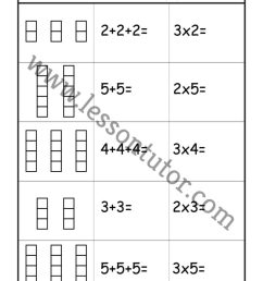 Multiplication – Add and Multiply – Repeated Addition Worksheet Second Grade  2 - Lesson Tutor [ 1024 x 791 Pixel ]