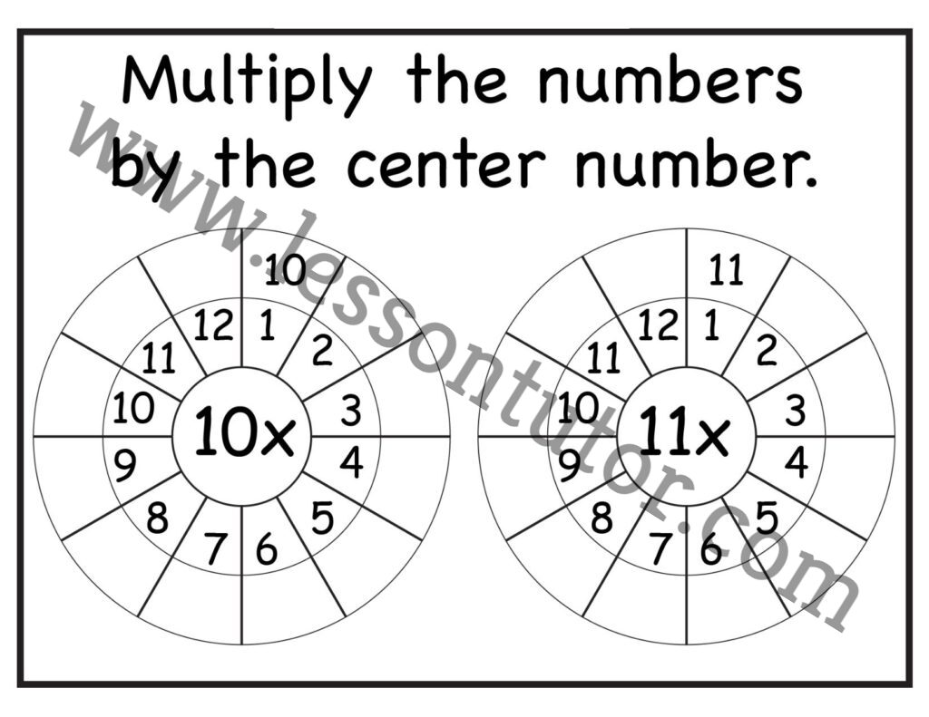 2nd Grade Worksheets Page 3 Of 11