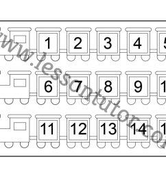 Number Chart – 1-15 Worksheet Kindergarten - 4 - Lesson Tutor [ 791 x 1024 Pixel ]