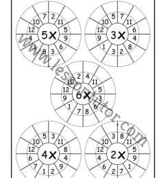 Random Order – Randomly Shuffled – Times Table Shuffled in Random Order – Multiplication  Worksheets – Multiply by 1 [ 1024 x 791 Pixel ]