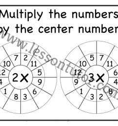Random Order – Randomly Shuffled – Times Table Shuffled in Random Order – Multiplication  Worksheets – Multiply by 1 [ 791 x 1024 Pixel ]