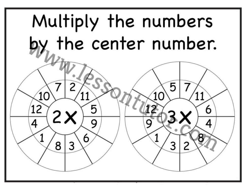 medium resolution of Random Order – Randomly Shuffled – Times Table Shuffled in Random Order – Multiplication  Worksheets – Multiply by 1