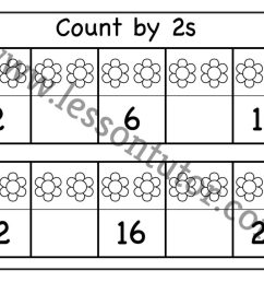 Skip Counting by 2 – Three Worksheet Kindergarten - Lesson Tutor [ 791 x 1024 Pixel ]