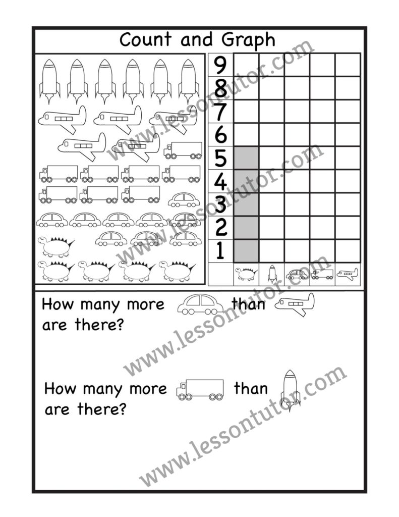 medium resolution of 1st Grade Worksheets- Page 3 of 31 - Lesson Tutor