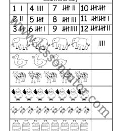 Tally Marks Worksheet First Grade - Lesson Tutor [ 1024 x 791 Pixel ]