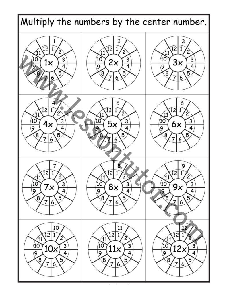 medium resolution of 3rd Grade Worksheets - Lesson Tutor