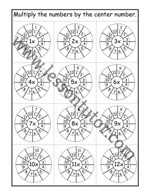 small resolution of 3rd Grade Worksheets - Lesson Tutor