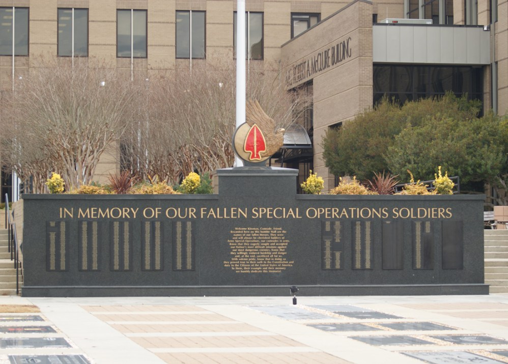 Special Operations Memorial Wall