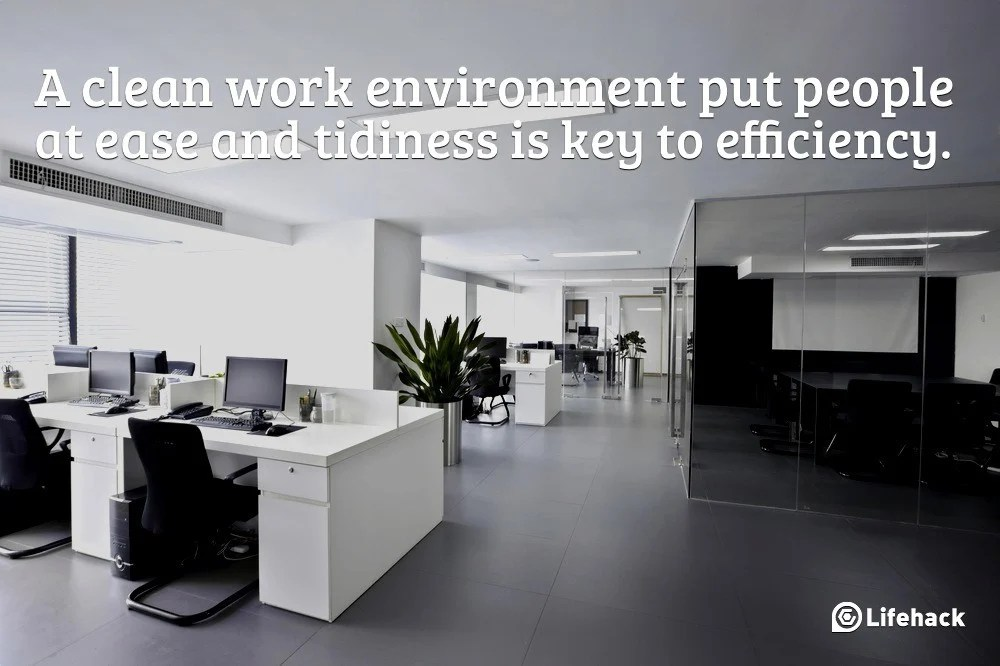 10 Steps To Clean Up Your Office In 10 Minutes